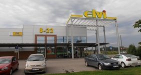 "77 Rupniecibas Street, Jelgava: we offer for rent premises from 10 to 400 sq.m. in the supermarket ""ELVI"""